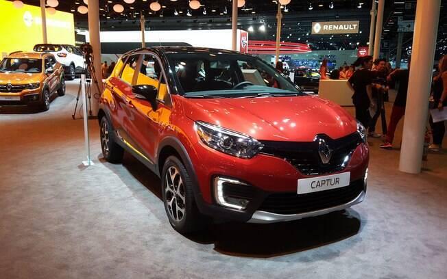 Versão topo de linha Intense do Renault Captur está sendo exposta no Salão do Automóvel, no São Paulo Expo
