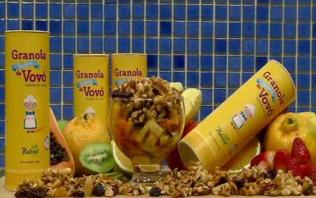 Granola da Vovó é saudável e tem embalagem sustentável
