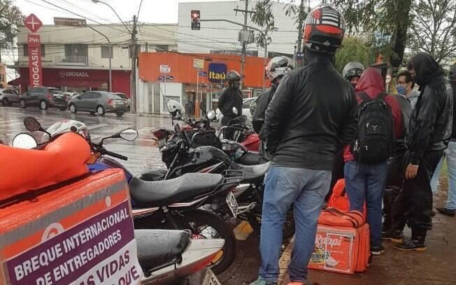 Motoboys são vítimas frequentes de acidentes graves.
