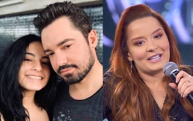 Kamily falou da relação do pai, Fernando, com Maiara