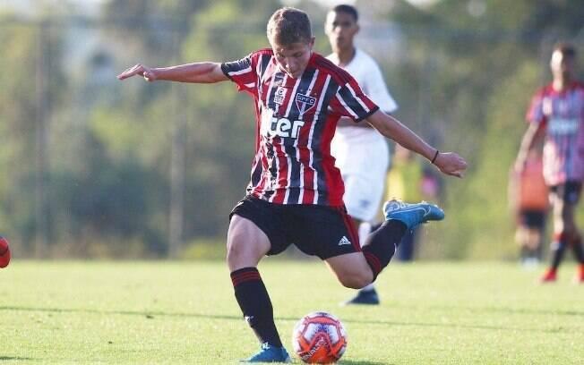 Léo Jance é destaque do sub-17 do Tricolor