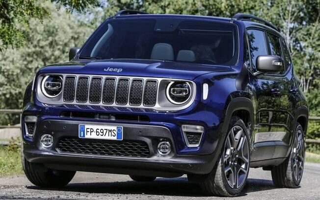 Depois de anunciar o lançamento do modelo híbrido plug-in, o Renegade totalmente elétrico será primeiro da Jeep