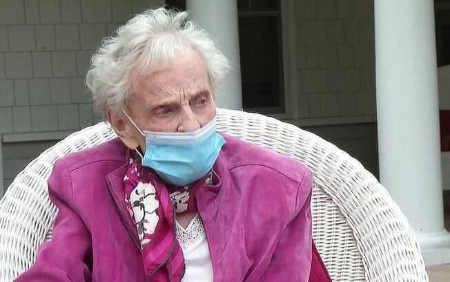 Mildred Geraldine, a idosa que sobreviveu a gripe de 1918, ao câncer e a Covid-19
