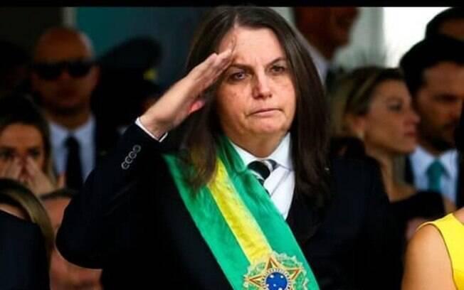 Bolsonaro se tornou a Presidenta Cloroquina