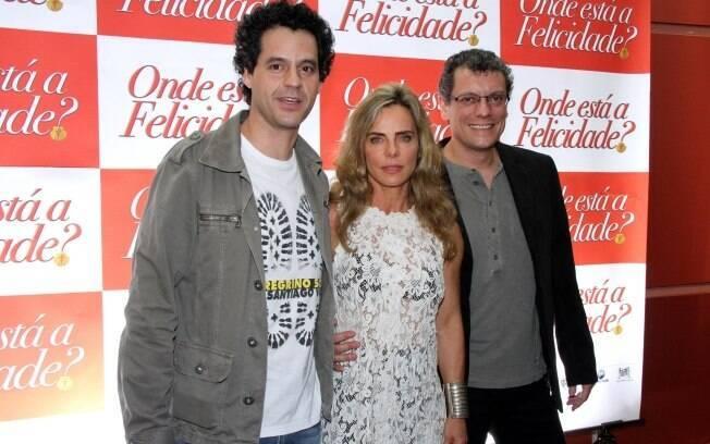 Bruno Garcia, Bruna Lombardi e Marcelo Airoldi são as estrelas do filme