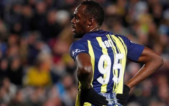 Usain Bolt jogou pelo Central Coast Mariners, no futebol da Austrália, durante um mês