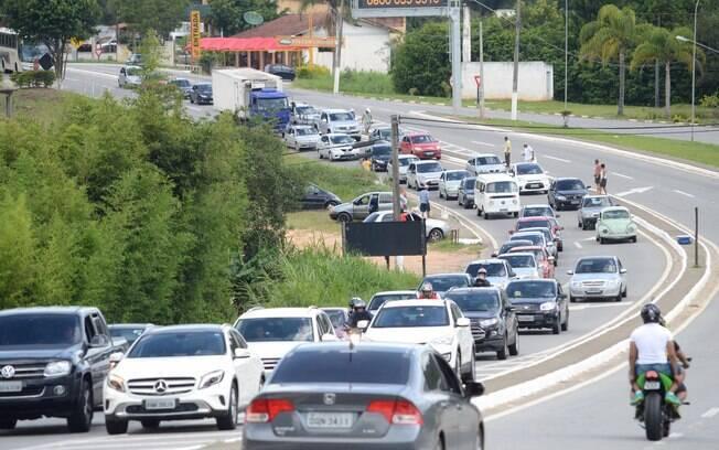 Segundo a Polícia Militar Rodoviária, maioria das infrações foi por não uso do cinto de segurança
