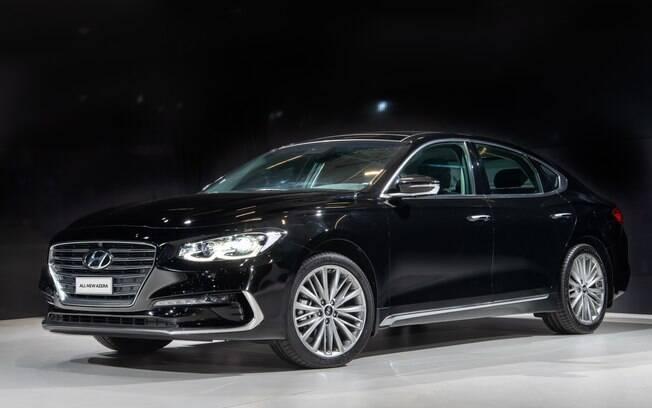 Hyundai Azera da nova geração chega bem mais caro, mas bem equipado e com motor de  261 cv com câmbio de 8 marchas