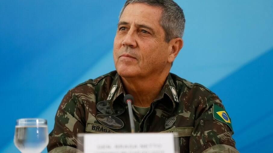 Braga Netto disse que despesas do ministério é o dobro do que disponível pelo Orçamento