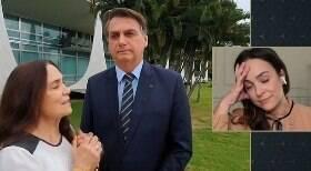 Gabriela Duarte revê a mãe com Bolsonaro e reação viraliza na web