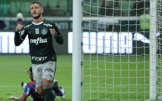 Zé Rafael foi destaque em goleada do Palmeiras contra o Fortaleza