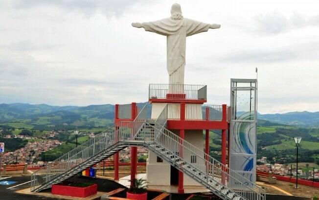 O Mirante do Cristo é um dos pontos turísticos mais procurados, segundo a secretaria de Turismo, para tirar fotos