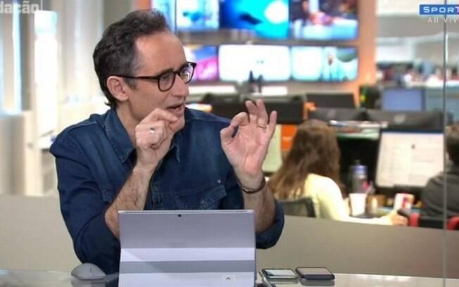 Marcelo Barreto se desculpa com presidente do Vitória após fake news
