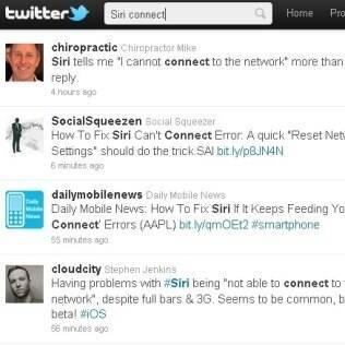 Reclamações dos usuários no Twitter apontam mal funcionamento do Siri