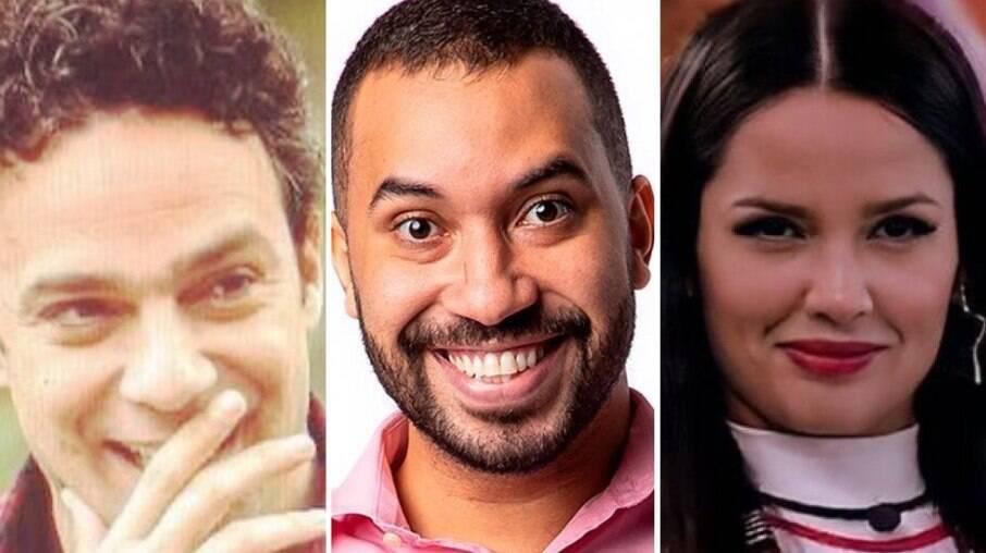 Marcelo Medici, Gilberto Nogueira e Juliette Freire