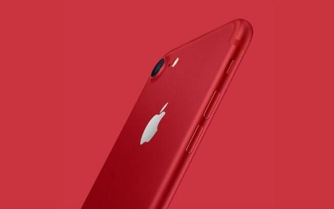 Nova edição do iPhone 7 foi apresentada para lembrar dez anos de parceira da Apple com o Fundo Global