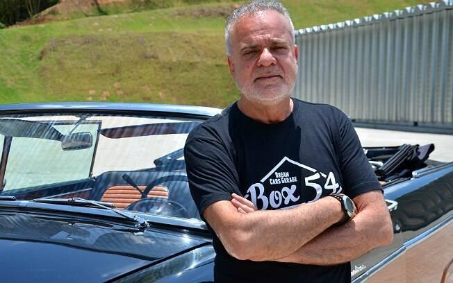 Marcos Cardoso, criador do Box 54, em Araçariguama, no interior de São Paulo