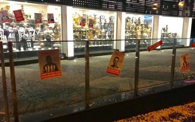 protesto Atlético-MG