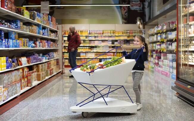 Carrinho da Ford no supermercado você vai ver apenas no mundo virtual, já que são apenas protótipos