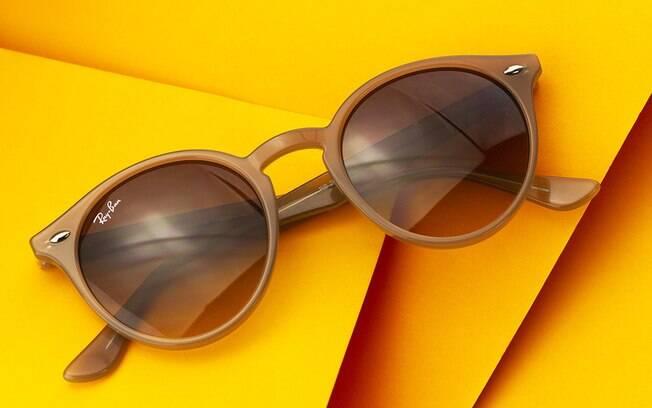 óculos nude e arredondado será tendência no outono
