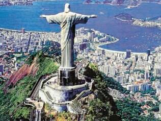 Cidade Maravilhosa tem monumentos mundiais, como o Cristo Redentor