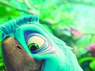 A arara Eduardo, pai da protagonista Jade, é a novidade da sequência