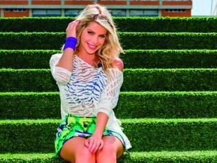 Karina é uma das novas contratações da emissora de Silvio Santos