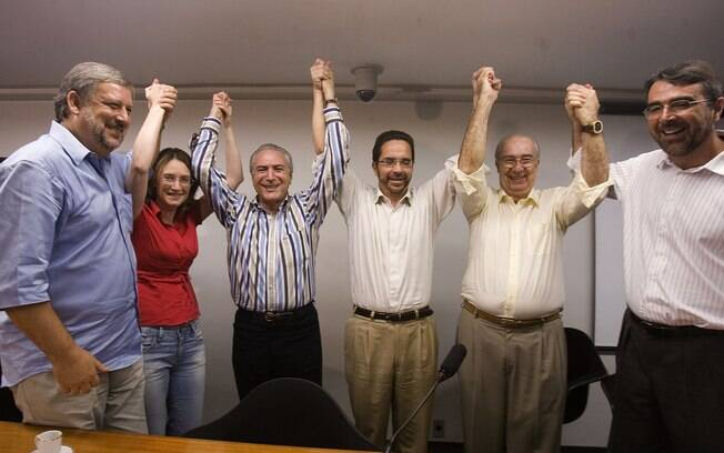 Com o apoio do PT e do governo Lula, Michel Temer reassumiu o comando da Câmara dos Deputados em 2009. Foto: Arquivo/Estadão Conteúdo - 01.02.2009