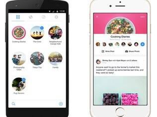 Dono do WhatsApp, o Facebook lançou recentemente o Groups, aplicativo para Android e iOS cujo foco são os grupos de conversa que os usuários criam na rede social