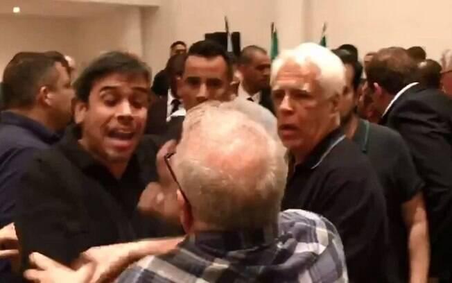 Filho de Eurico Miranda briga com Campello, presidente do Vasco