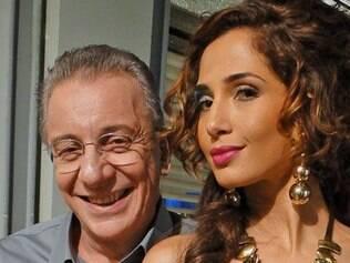 Camila Pitanga e Marco Nanini