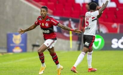 Flamengo vence o São Paulo por 5 a 1 no Maracanã