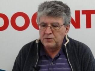 """Paulo Rizzo: """"Nós estamos começando com paralisações de um dia, mas está no nosso horizonte a organização de uma greve ainda nesse semestre"""""""