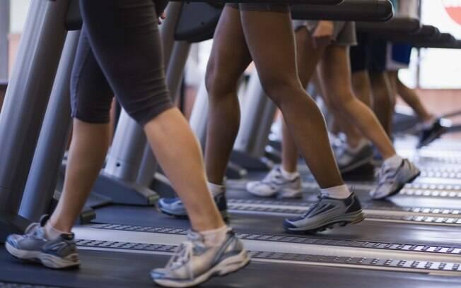 Caminhada é um exercício aeróbico de baixa intensidade