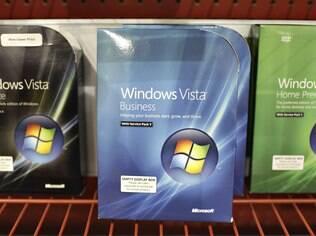 Windows Vista: ficou nas prateleiras, enquanto usuários esperavam versão menos