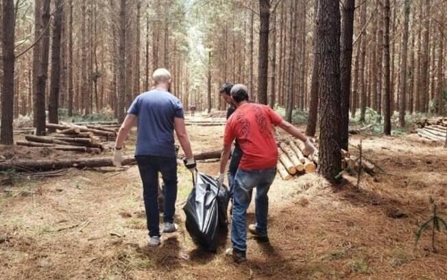 Corpo de homem foi encontrado em área de reflorestamento