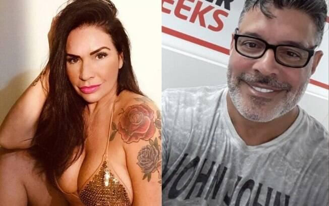 Solange Gomes fala da relação com Alexandre Frota