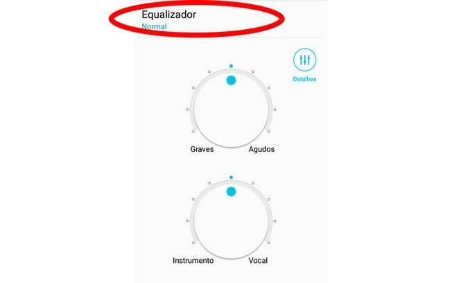 O aplicativo fornece dicas de configurações já prontas caso você não queira fazer manualmente. Para isso, selecione