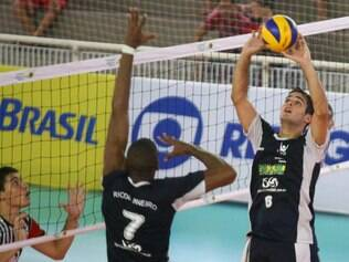 Felipe em ação pela seleção do Rio de Janeiro, seu Estado natal