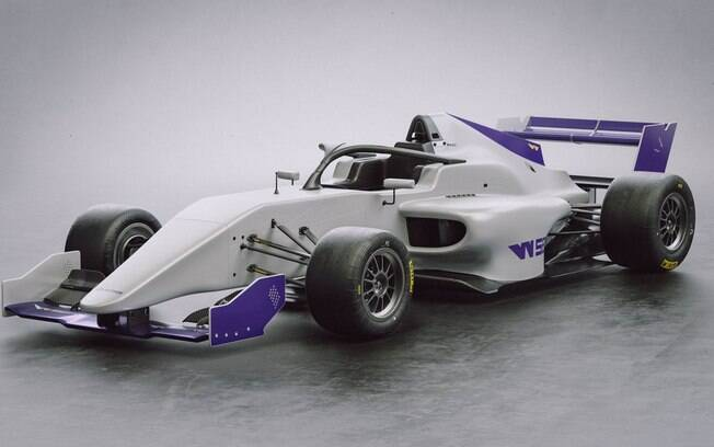 Carro que será usado na categoria W Series, voltada para mulheres