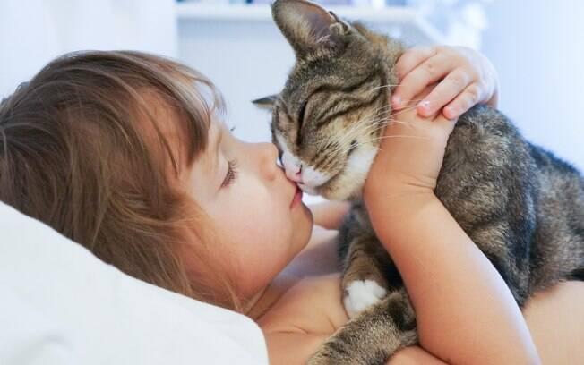 A relação dos animais com as crianças pode ser muito benéfica