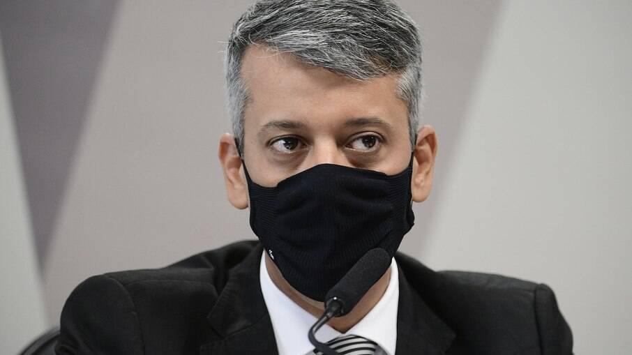 Ex-diretor de Logística do Ministério da Saúde Roberto Dias