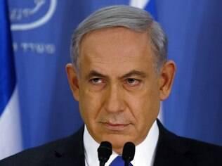 Benjamin Netanyahu disse que Israel é a casa de todos os judeus