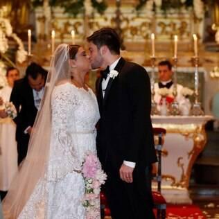 Preta Gil e Rodrigo Godoy se casam no Rio de Janeiro