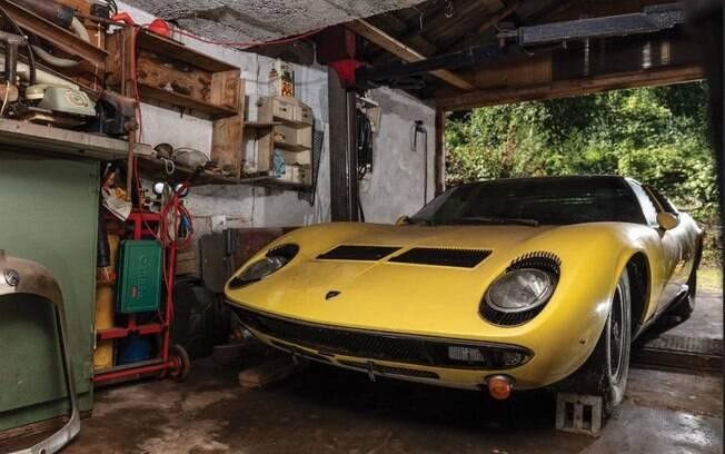 Lamborghini Miura teve pouquíssimas unidades produzidas. E dado a raridade deste exemplar, é muito valioso