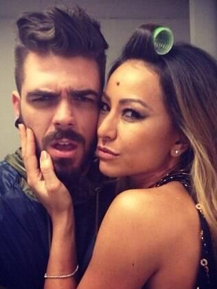 Sabrina Sato com Daniel Carvalho