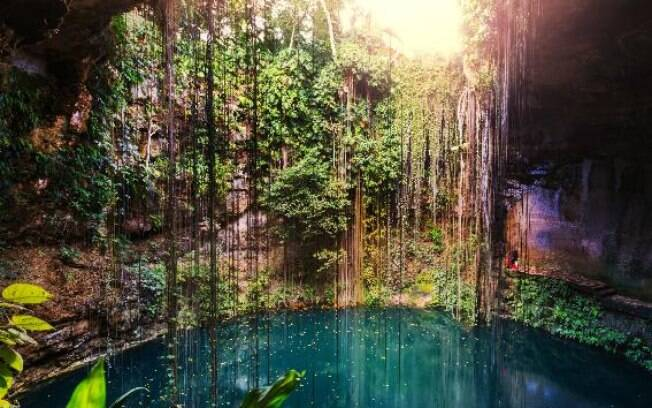 Riviera Maya encanta pela beleza natural