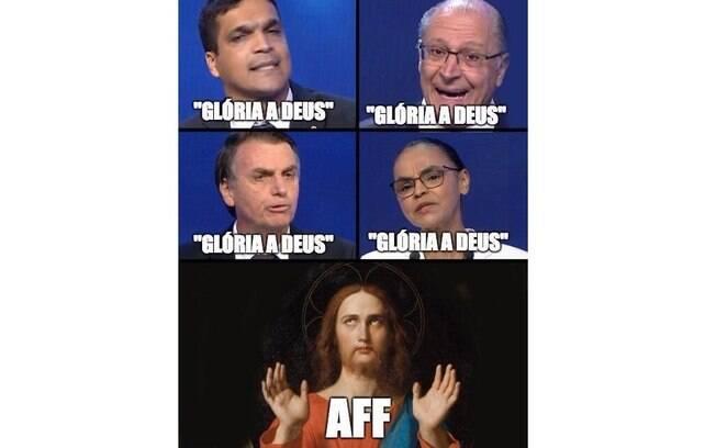 As redes sociais não perderam tempo e fizeram vários memes do debate entre os presidenciáveis