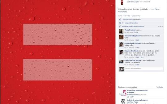 Coca-Cola entra na campanha pelo casamento igualitário - Home - iG
