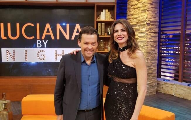 Fernando Rocha e Luciana Gimenez